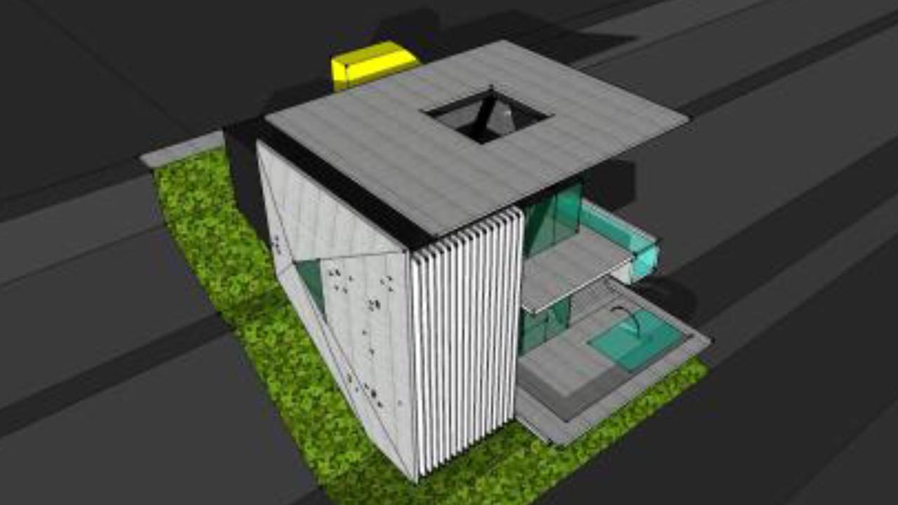 Υπό κατασκευή μονοκατοικία στο Πανόραμα της Βούλας